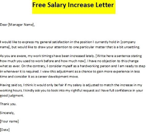 General Management Salary Growth Mba by Sle Letters For Salary Increase Ideal Vistalist Co