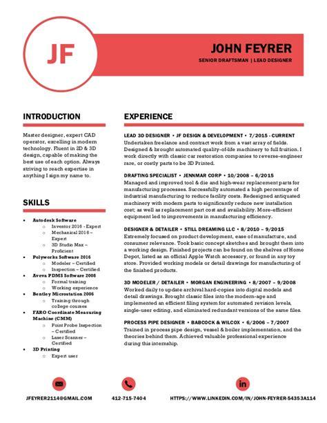 John Feyrer Polished Resume Polished Resume Templates