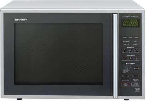 Microwave Sharp Low Wattage sharp combination microwave 40 litre 900 watt silver ebay