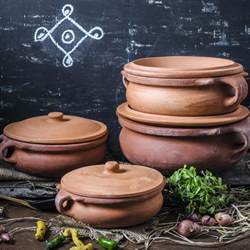Soapstone Price Indian Clay Curry Pot Ancient Cookware