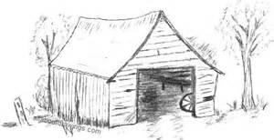 drawings of barns characteristic barn drawing