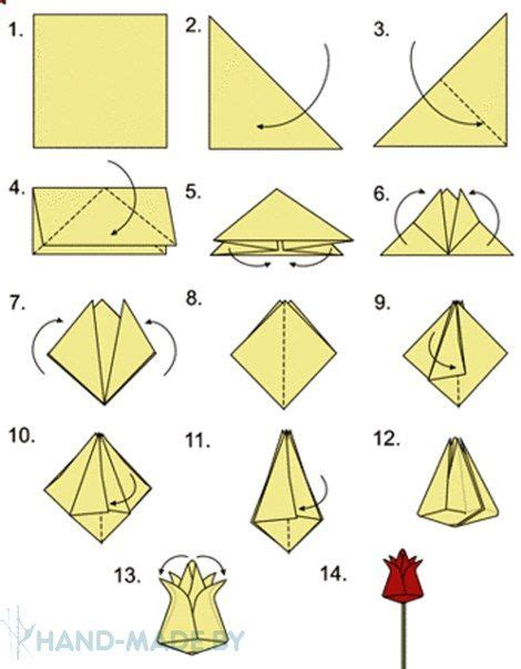 flower origami tutorial easy tulipan de origami paso a paso 2 jpg 470 215 604 inventos
