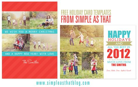 card photo collage templates free simple as that card templates one happy