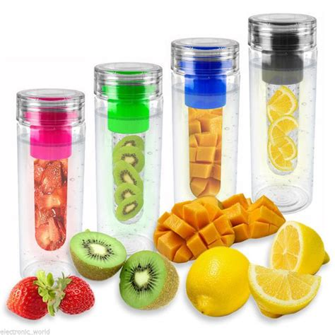 Terlaris My Bottle Infuse Water Free Bag fruit infusing water bottle infuse infuser hydration aqua sports healthy new ebay