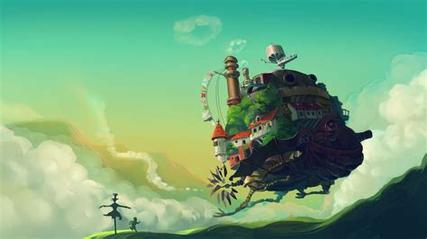 the of howl s moving castle howls moving castle hd wallpaper