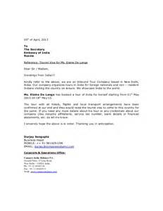 covering letter for visa application sle of cover letter for visa application employment