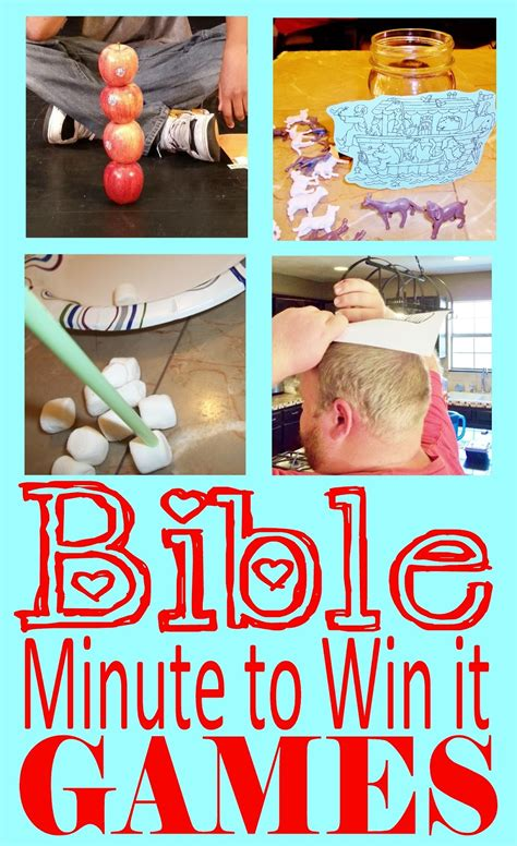 minute to win it games for church youth groups