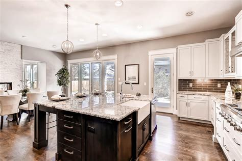 Luxury Transitional Style   Home Staging Design by White