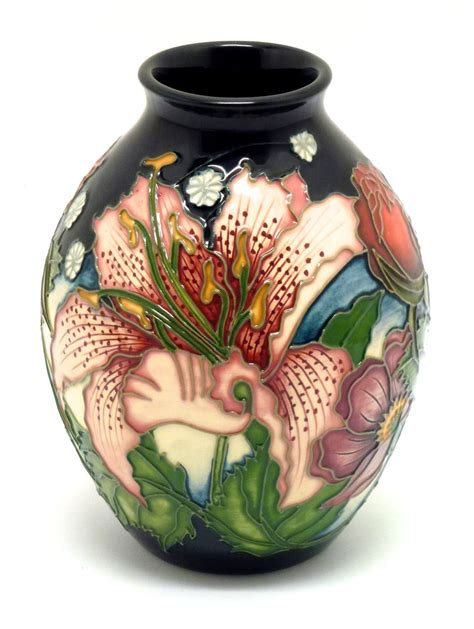 Moorcroft Vase Prices by Buy Moorcroft Pottery Sandbach Bouquet 3 5 Vase Claris S