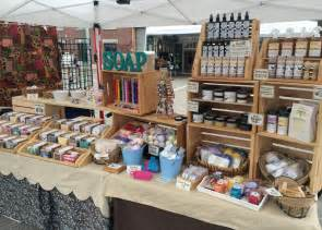 Handmade Craft Market - image gallery handmade soap displays