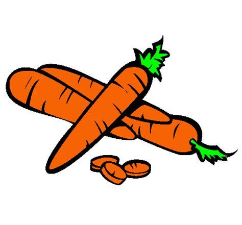 imagenes infantiles zanahoria dibujo de zanahorias ii pintado por zanahoria en dibujos