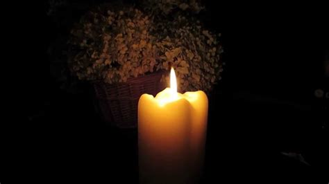 beautiful candles beautiful soft burning candle 3 hours in hd youtube