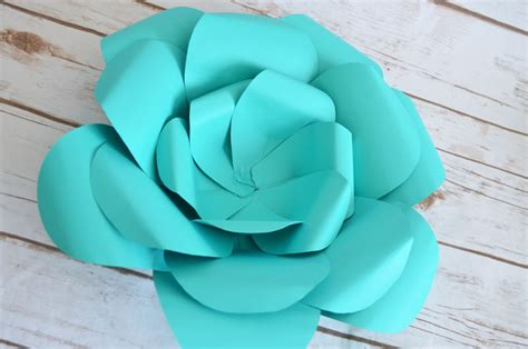 Big Flower 5 how to make paper flowers
