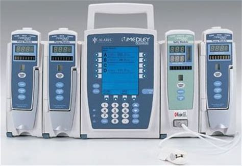 used alaris medley system pump iv infusion for sale