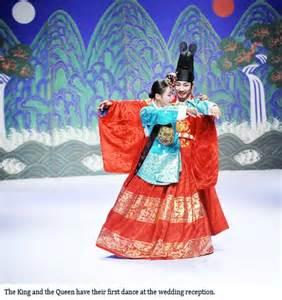 drama korea romantis joseon reenactment of joseon royal marriage hancinema the