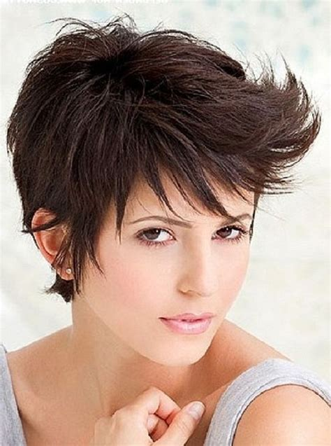 spikey hair styles for a black small round face spiky short pixie haircut 2013 hair pinterest short
