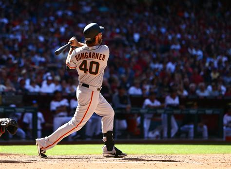 bumgarner becomes pitcher to hit two home