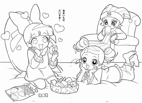 Free Powerpuff Girls Z Blossom Coloring Pages Powerpuff Z Coloring Pages Free
