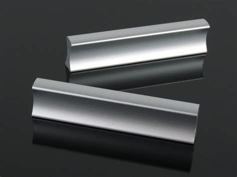 free shipping 64mm aluminium silver drawer handles modern