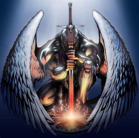 imagenes guerreros oscuros angeles y alados taringa
