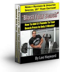 blast your bench blast your bench review introduces how to building muscle