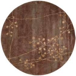 Nourison Somerset Multicolor 5 Ft 6 In Round Area Rug 6 Ft Rug