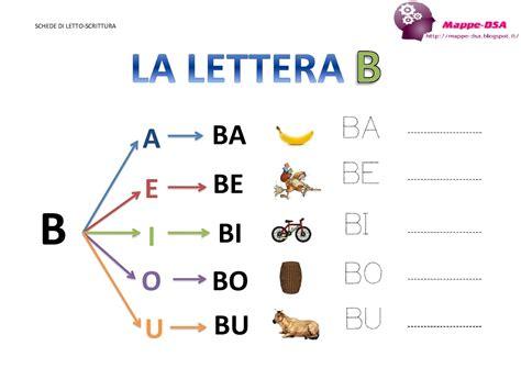 trova parola da lettere la lettera quot b quot e le sue sillabe