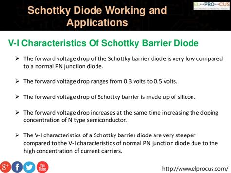schottky diode tutorial schottky diode vi characteristics 28 images schottky barrier diode construction vi