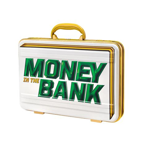 Money Bank s money in the bank commemorative white