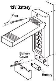 Liftmaster Garage Door Keypad Battery Change by Chamberlain Garage Door Openers Faqs Keypad Battery