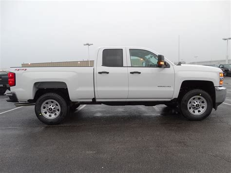 chevy work new 2017 chevrolet silverado 2500hd work truck extended