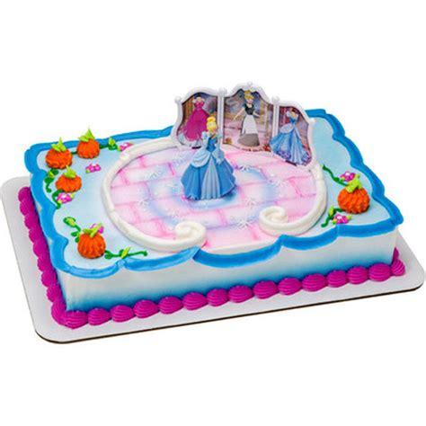 Cake Buttercream Princess Cinderella Uk 20cm cinderella transforms cake decorating kit disney princess cake topper birthday ebay