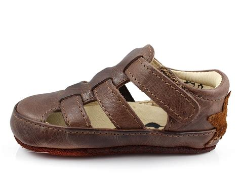 Sandal Neckermann 02 Dk Brown arauto rap babysandal brun 02002 02 d brown str 19 23