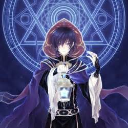 Holds his star lantern entering the school gates removing his hood