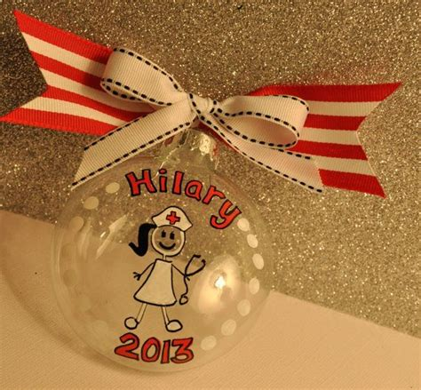 christmas tree decorations for nurse graduate 1000 ideas about ornament on ornaments painted ornaments and