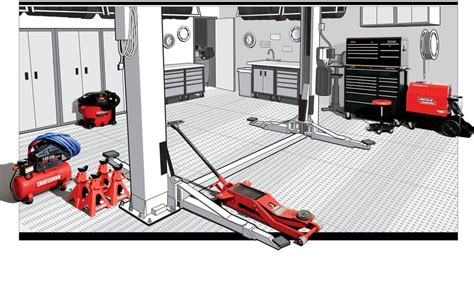 mechanical workshop layout ideas the well equipped garage everything you need to create