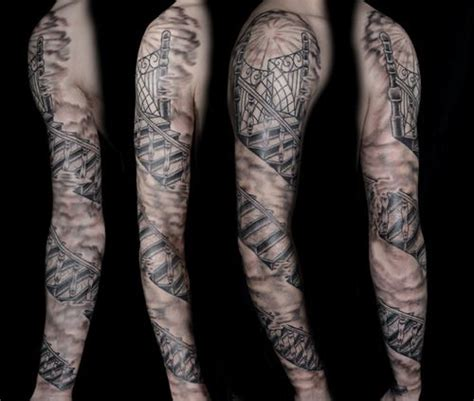 staircase tattoo staircase drawing search tattoos