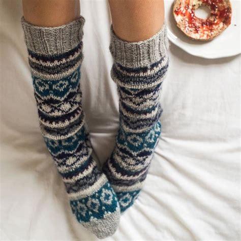 knit socks knitted socks by bibico notonthehighstreet