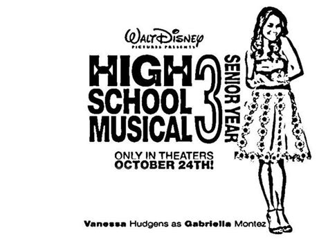 coloring pages for high school high school musical senior year coloring pages