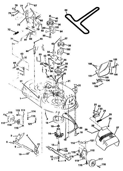 craftsman lawn mower parts diagram craftsman mower wiring diagram wiring diagram with