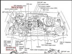 nissan frontier belt diagram on nissan 2 4 liter engine diagram 1998 2008 nissan xterra engine