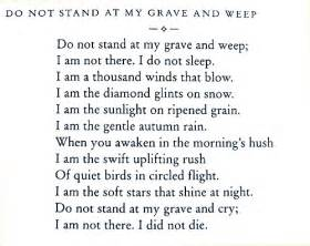 This poem was written in 1932 by mary elizabeth frye an american who