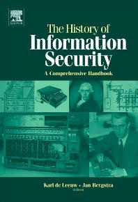 the history of information security 1st edition