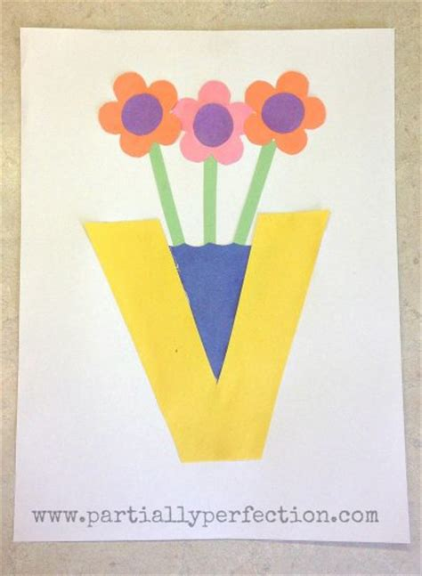 V Is For Vase by V Is For Vase Family Crafts