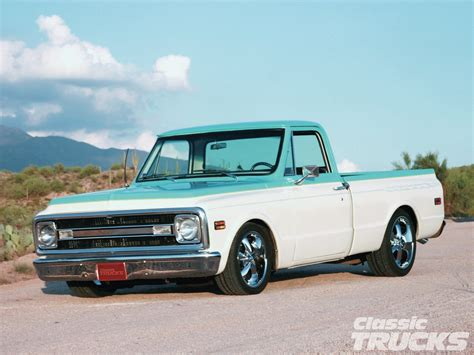 And C10 1970 chevy c10 white and blue rod network