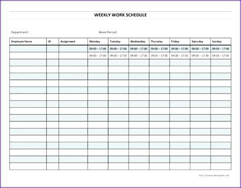 employee schedule template excel employee schedule template employee schedule