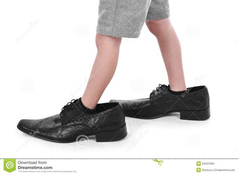 shoes for with big in big shoes stock photo image of foot
