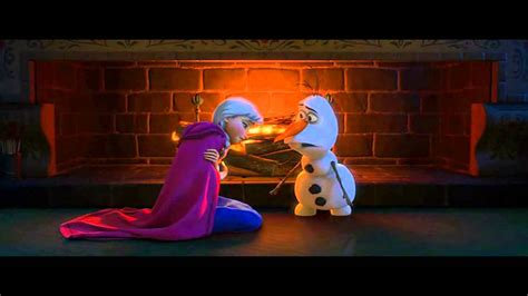 film elsa dan anna bahasa indonesia disney s frozen olaf explains love to anna youtube