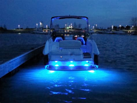 cobalt boats underwater lighting cobalt 242 loaded 97hrs waketower underwater led custom