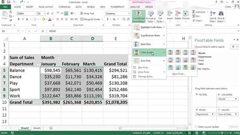 tutorial pivot table in excel excel tutorials training lynda com